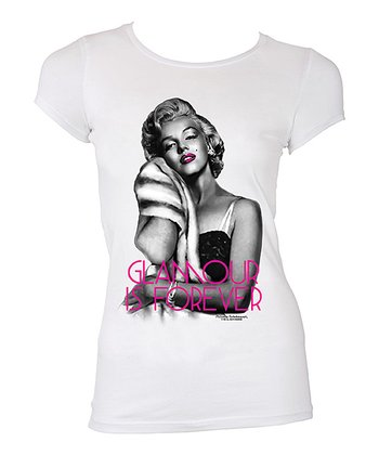 Marilyn Monroe 'Glamour Is Forever' Tee - Women