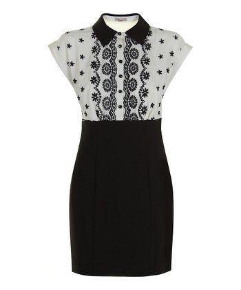 Darling Cream Jessica Blouson Dress