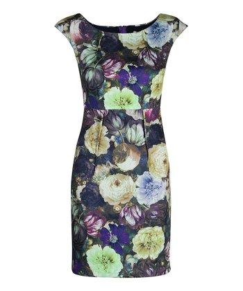 Darling Orchid Layla Sheath Dress