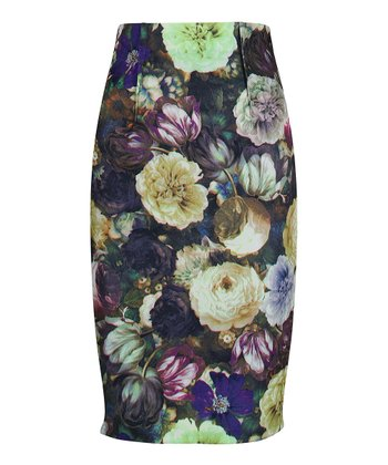Darling Orchid Layla Pencil Skirt