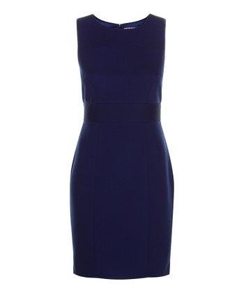 Darling Blue Myleene Sheath Dress