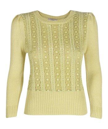 Darling Dusky Lime Nicole Sweater