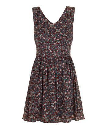 Darling Teal Rebecca Sleeveless Dress