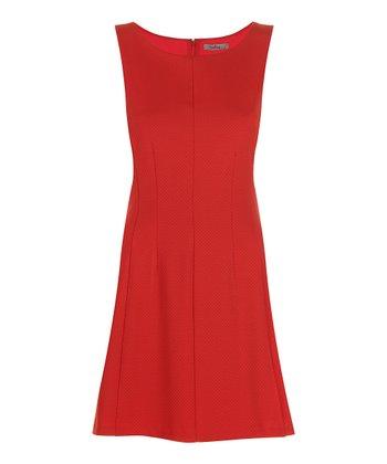 Darling Tangerine Angelica Sleeveless Dress