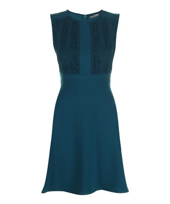 Darling Teal Faye Sleeveless Dress