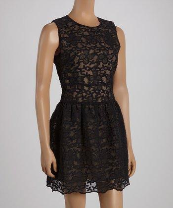 Ju's Black Carrie Sleeveless Dress