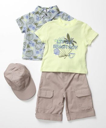 Blue Beach Boy Set - Infant