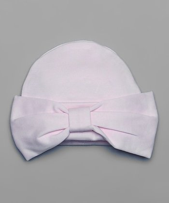 Pink Bow Beanie