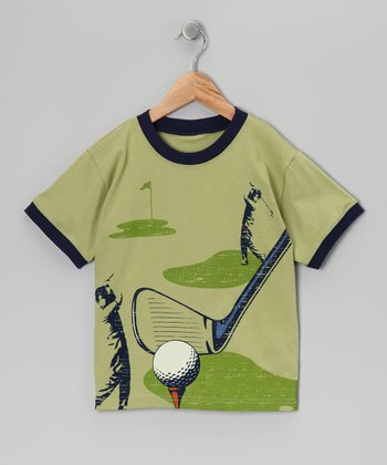 Fern Green Golf Tee - Boys