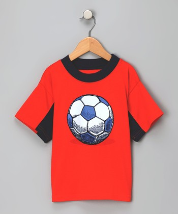 Orange Soccer Tee - Toddler & Boys
