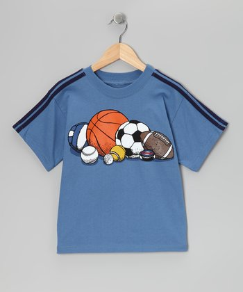 Captain Blue All-Star Tee - Boys