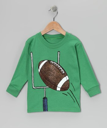Turf Green Field Goal Tee - Boys