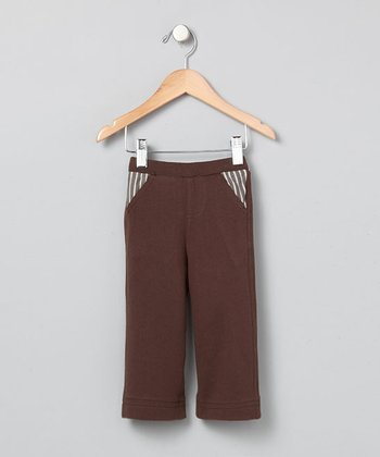 Chocolate Stripe Pocket Pants - Infant & Boys