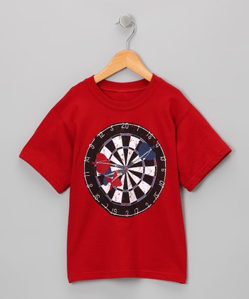 Rust Dartboard Tee - Boys