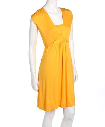 Yellow Tunnel Maternity & Nursing Dress