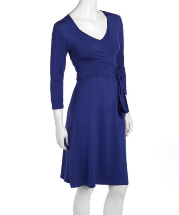 Indigo Giselle Maternity & Nursing Dress