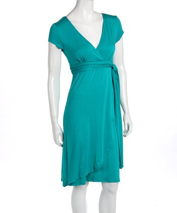Tequila Blue Elena Maternity & Nursing Dress