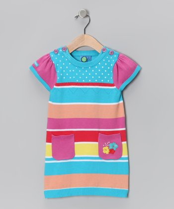 Blue Atoll Dress - Infant & Toddler