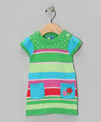 Poison Green Atoll Dress - Infant & Toddler