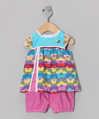 Blue Atoll Romper - Infant
