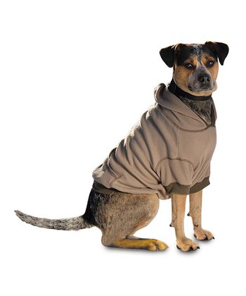 Tan On-the-Go Dog Hooded Sweatshirt