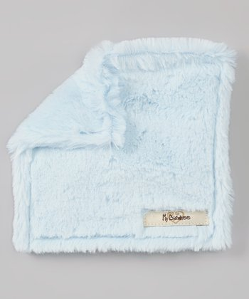 Luxe Blue Plush Crinkleez Lovey