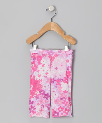 Pink & Lavender Elizabeth Pants - Infant
