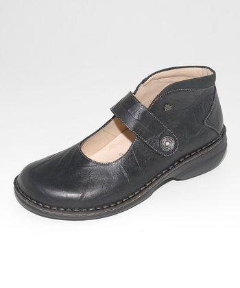 Black Leather Cornwall Mary Jane