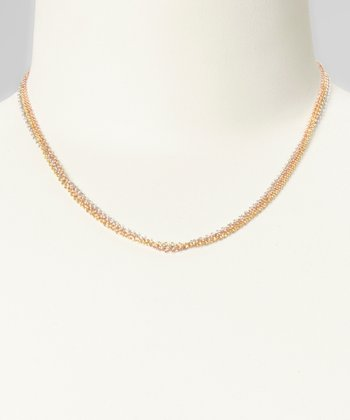 Sterling Silver Three-Row Chain Necklace