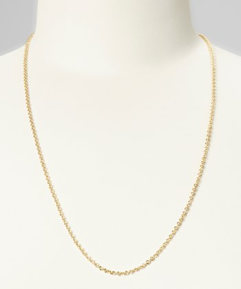 "Gold Heavy Links 24"" Chain"