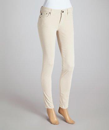 Big Star Eggshell Alex Mid-Rise Skinny Jeans - Women