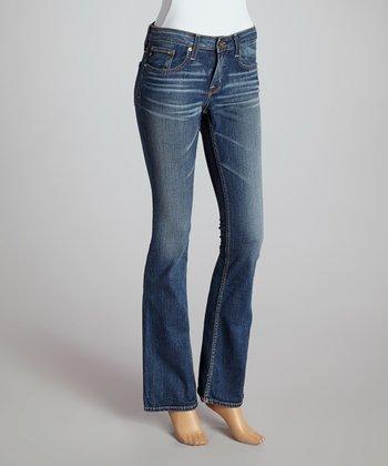 Big Star Fourteen-Year Dust Hazel Mid-Rise Bootcut Jeans - Women