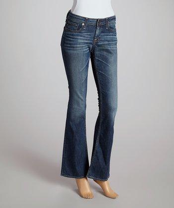 Big Star Ten-Year Dust Remy Low-Rise Bootcut Jeans - Women