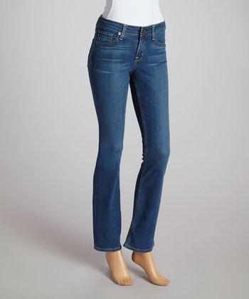 Big Star Olympia Light Hazel Mid-Rise Bootcut Jeans - Women