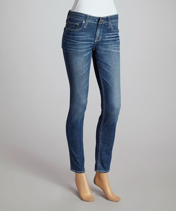Big Star Eighteen-Year Solar Remy Low-Rise Skinny Jeans - Women