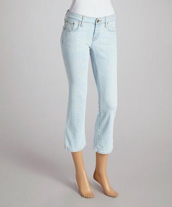 Big Star Plunge Rikki Low-Rise Capri Jeans - Women