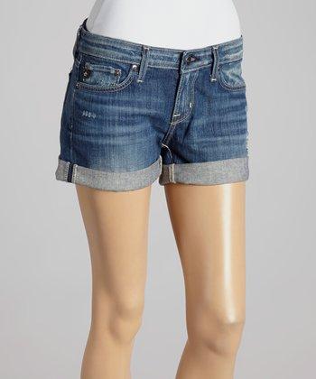 Big Star Seventeen-Year Passage Remy Low-Rise Denim Shorts - Women