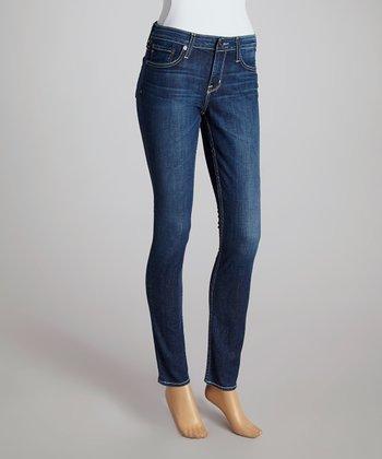 Big Star Twelve-Year Sanctuary Alex Mid-Rise Skinny Jeans - Women
