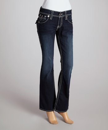 Big Star One-Year Picasso Slim Sophie Mid-Rise Bootcut Jeans - Women