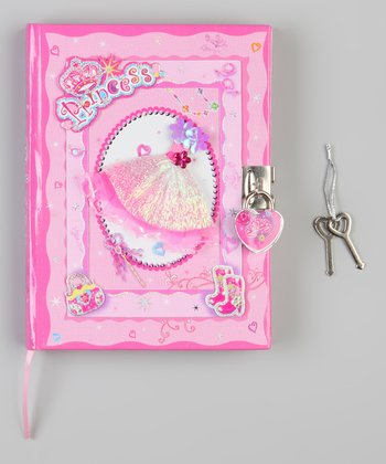 Princess Locking Diary