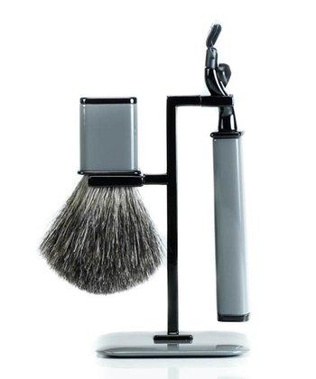 Gray Shaving Set