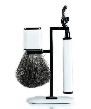 White Shaving Set