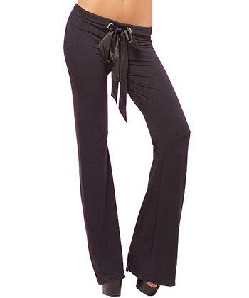 René Rofé Black Sequin Lounge Pants - Women