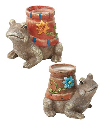 Frog Friend Flower Pot