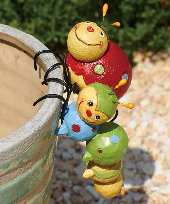 Spring Bug Pot Hanger Set