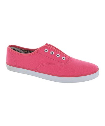 Pink Stephanie Slip-On Sneaker
