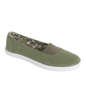 Green Jena Slip-On Shoe