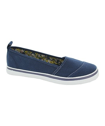 Navy Jennifer Slip-On Shoe