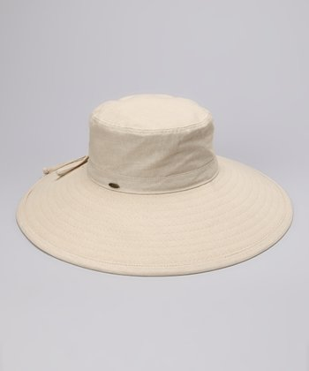 Natural Solid Sunhat