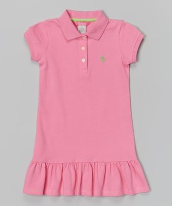 Preppy Pink Polo Dress - Infant & Girls